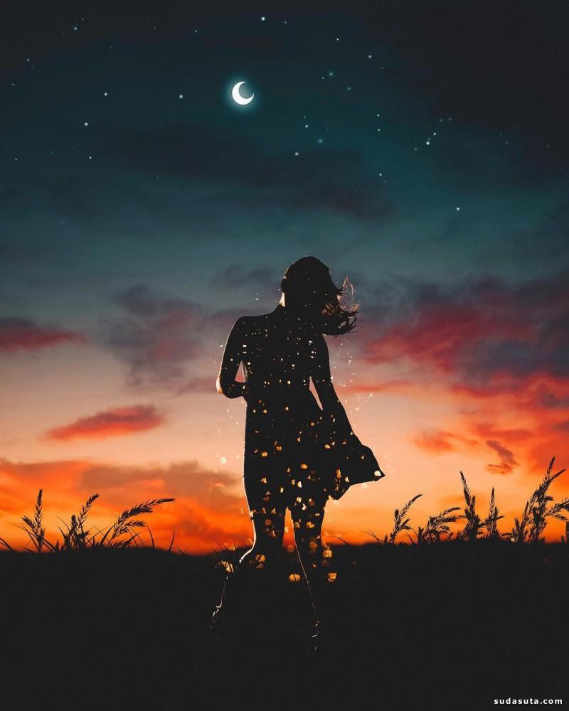 Nick Asphodel 梦幻般的神奇照片合成作品欣赏