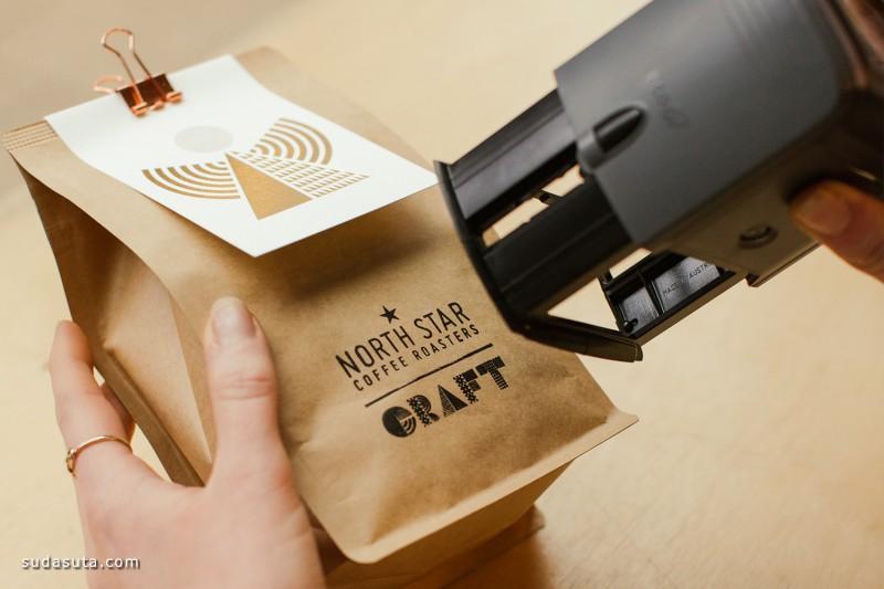 North Star 咖啡的包装设计