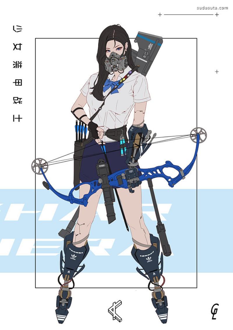 Park JunKyu 性感的数字艺术作品欣赏