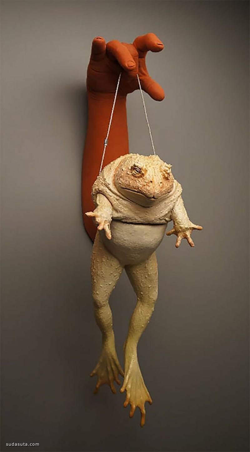 Russell Wrankle 奇怪的动物雕塑