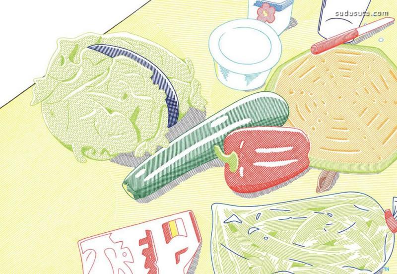 Takashi Nakamura 安静的日子 插画作品欣赏