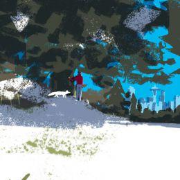 Tatsuro Kiuchi 书籍插画《白色狐狸》