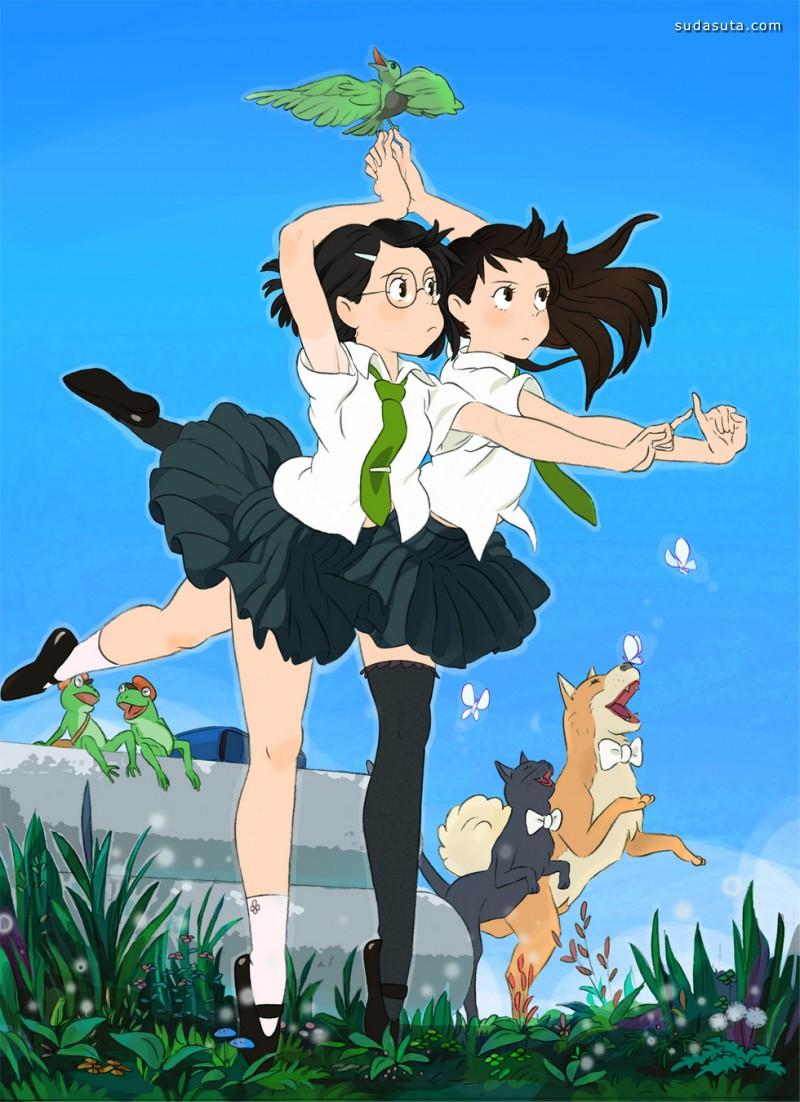 うすけ 清新可爱的日式漫画欣赏