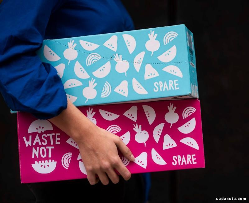 Spare Snacks 包装设计欣赏