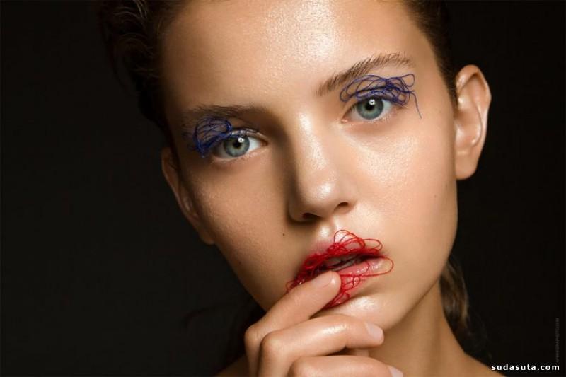 Anastasia Apraksina 彩妆设计欣赏