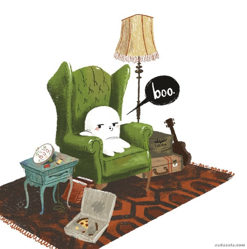 Cale Atkinson 儿童书籍插画欣赏