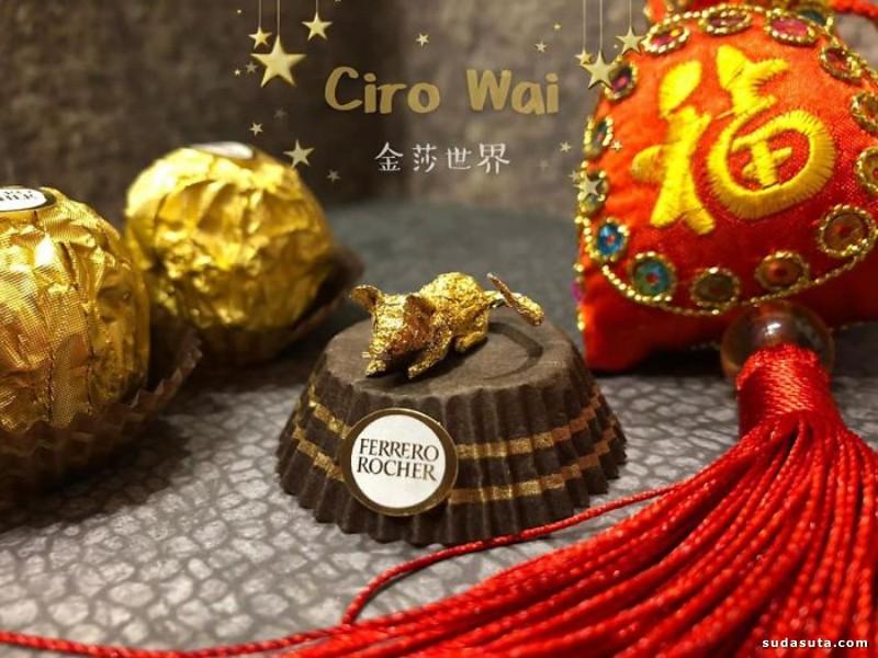 Ciro Wai 立体生肖小雕塑
