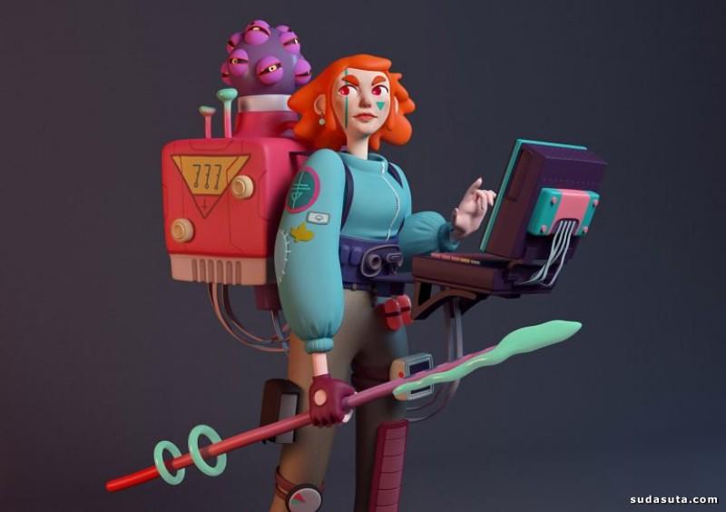 Giulia Marchetti 3D立体卡通造型设计欣赏