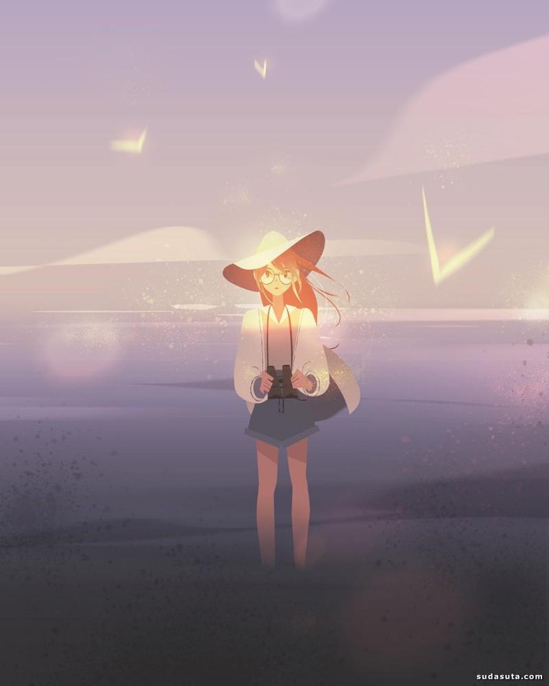 Jenny Yu 色彩斑驳的魔力生活