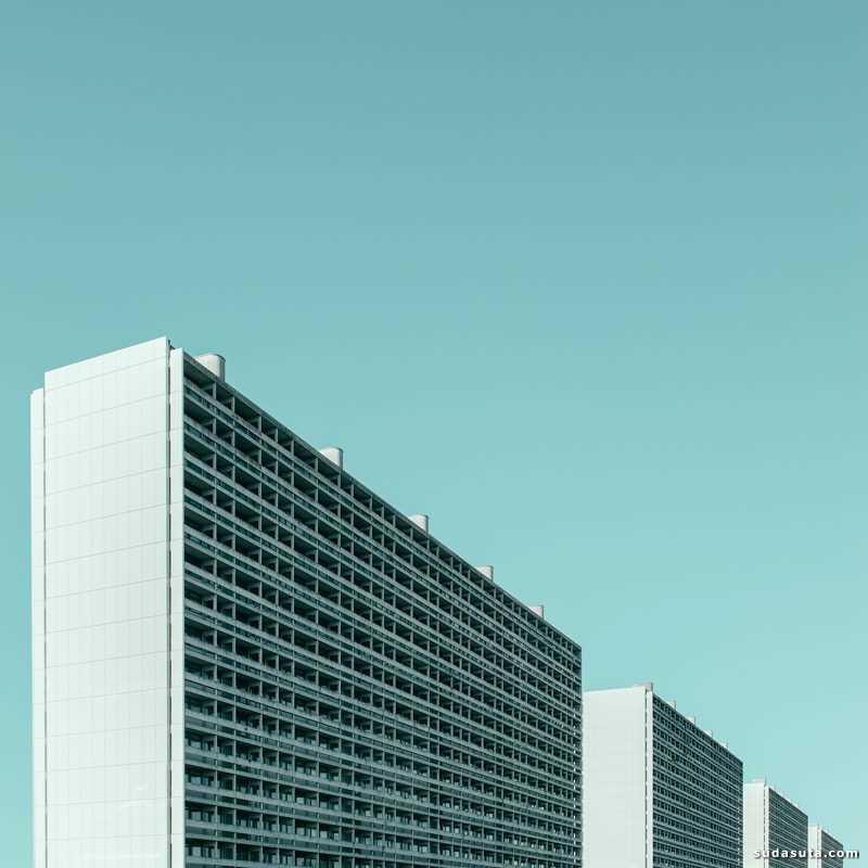Jeroen Peters 简约的城市摄影欣赏