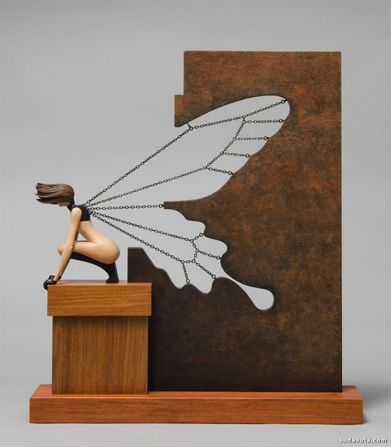 John Morris 木头的艺术
