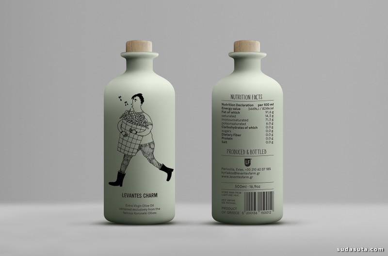 Levantes Family Farm 包装设计欣赏
