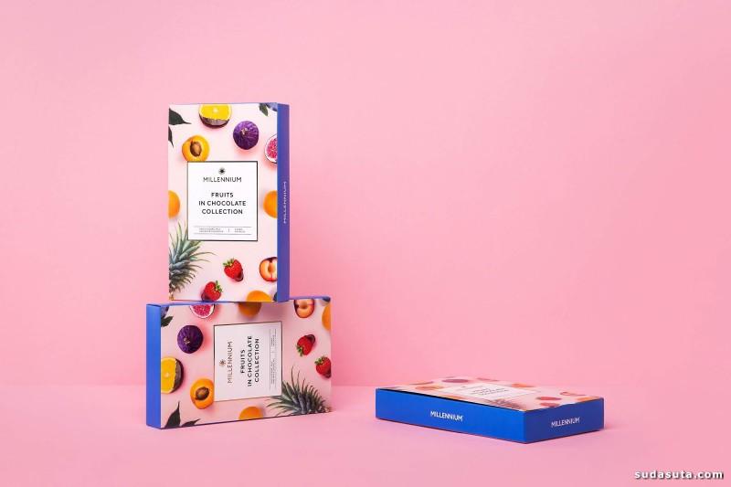 Millennium 巧克力包装设计欣赏