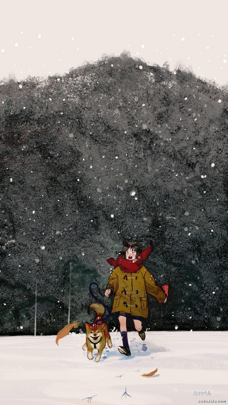 NOMA 水彩插画欣赏