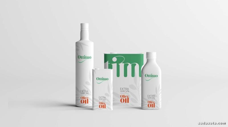 Ottimo 橄榄油包装设计欣赏