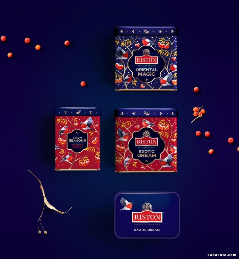 Riston Tea 包装设计欣赏