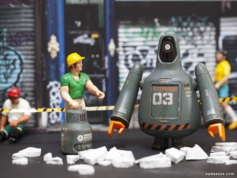 Shinbone Creative 3D 立体卡通角色设计欣赏