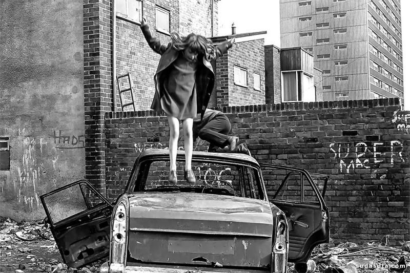 Tish Murtha 黑白街头摄影欣赏