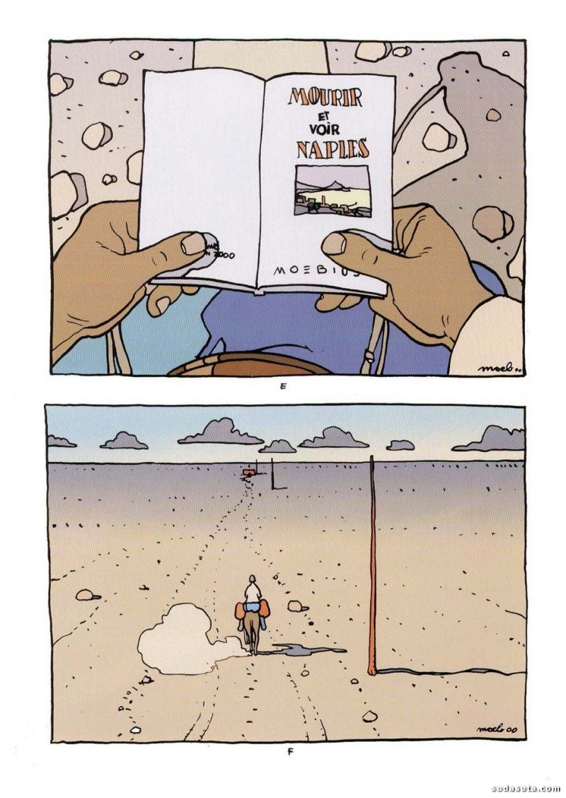 法国艺术家Moebius 漫画作品欣赏