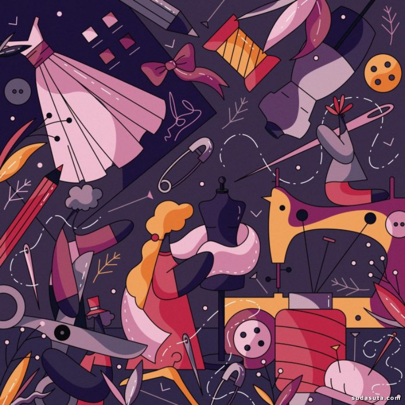 Olga Zalite 图形设计欣赏