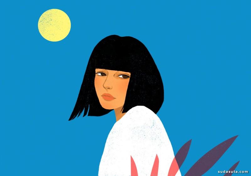 Suzanne Dias 装饰插画欣赏