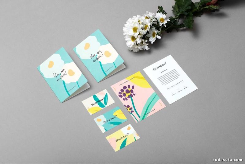 Bloombox 花的早安 包装设计欣赏