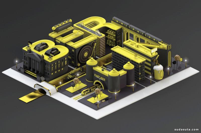 Design Lad  立体3D卡通艺术渲染