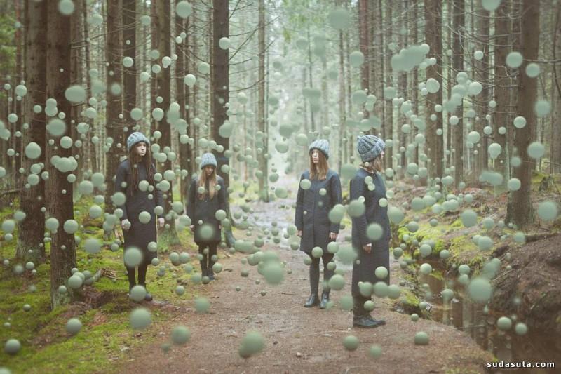 Joanna Keler 不同寻常的照片合成作品