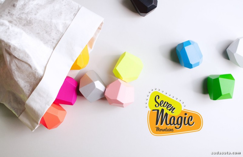 Seven Magic Mountains 产品设计欣赏