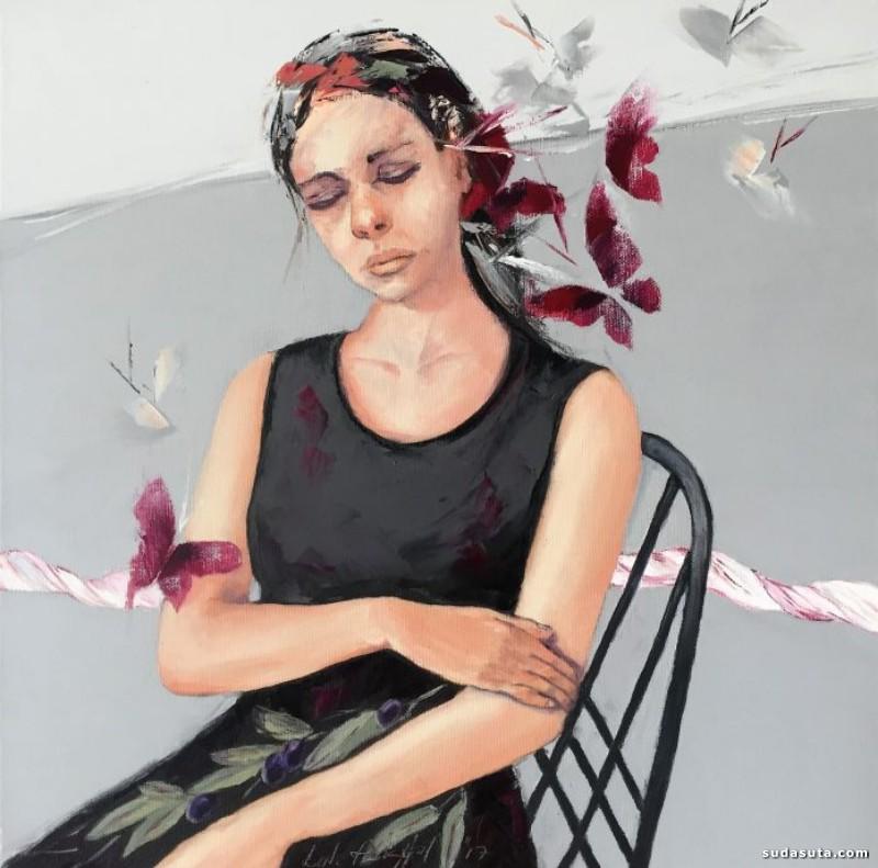 Lale Akyol 绘画艺术欣赏