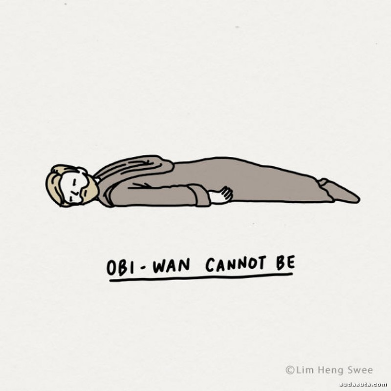Lim Heng Swee 星球大战主题小漫画