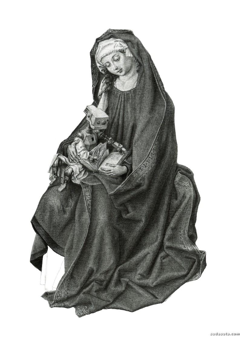 Mateo Pizarro 绘画艺术欣赏