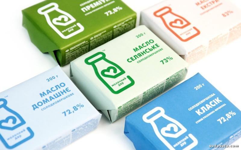 Milk Gift 包装设计欣赏