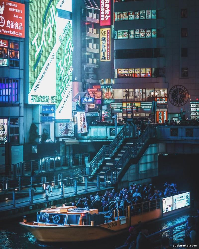 Omi Kim 夜游霓虹日本