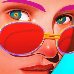 Oscar Llorens 数字艺术作品《女孩子们》