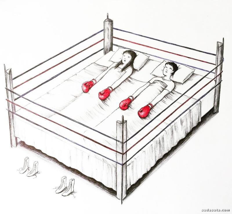 Virginia Mori 讽刺漫画欣赏