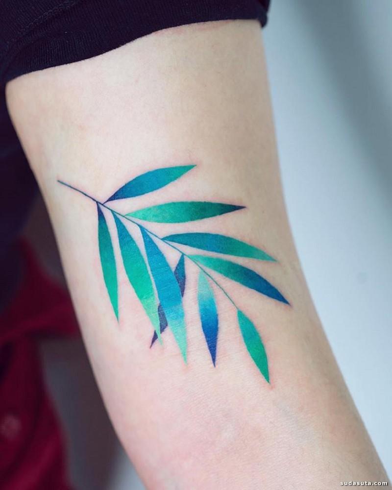 Zihee Tattoo 自然纹身图案设计欣赏