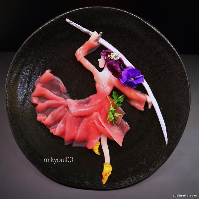 Sashimi 美食艺术欣赏