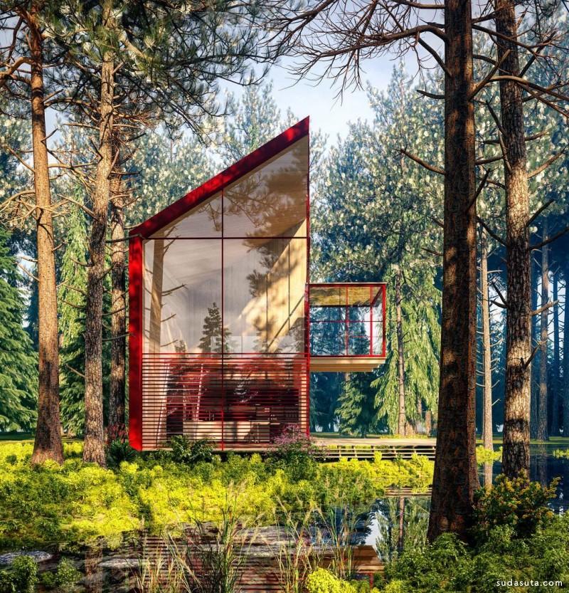 Alexander Nerovnya 建筑设计欣赏