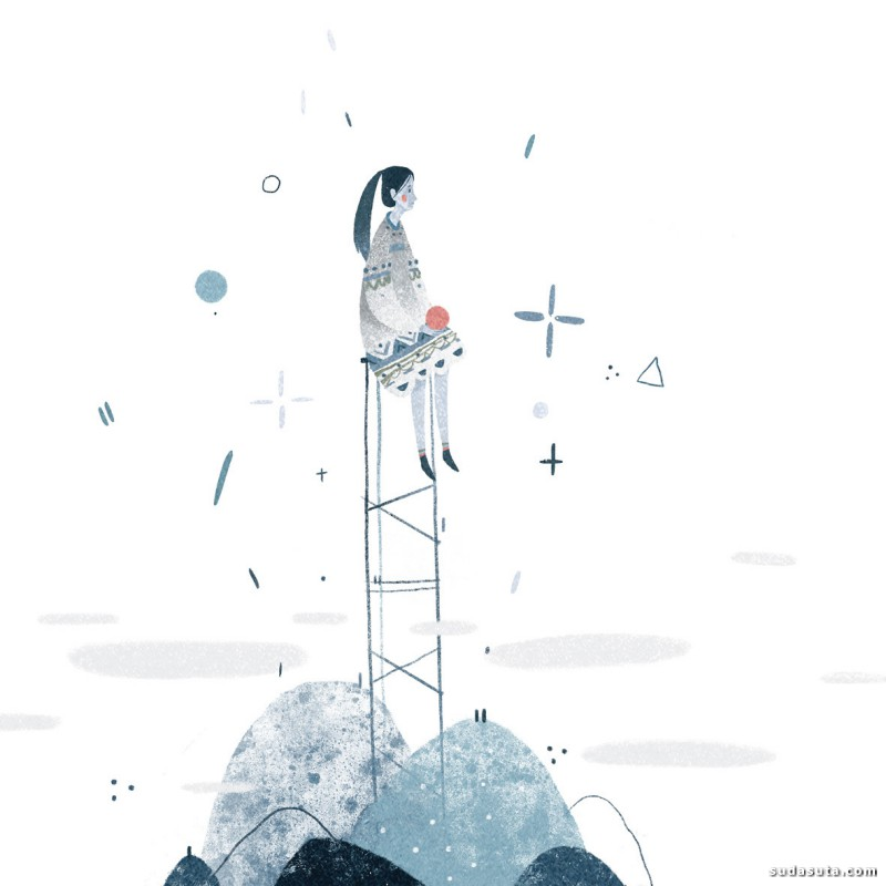 Anastasia Suvorova 装饰插画欣赏