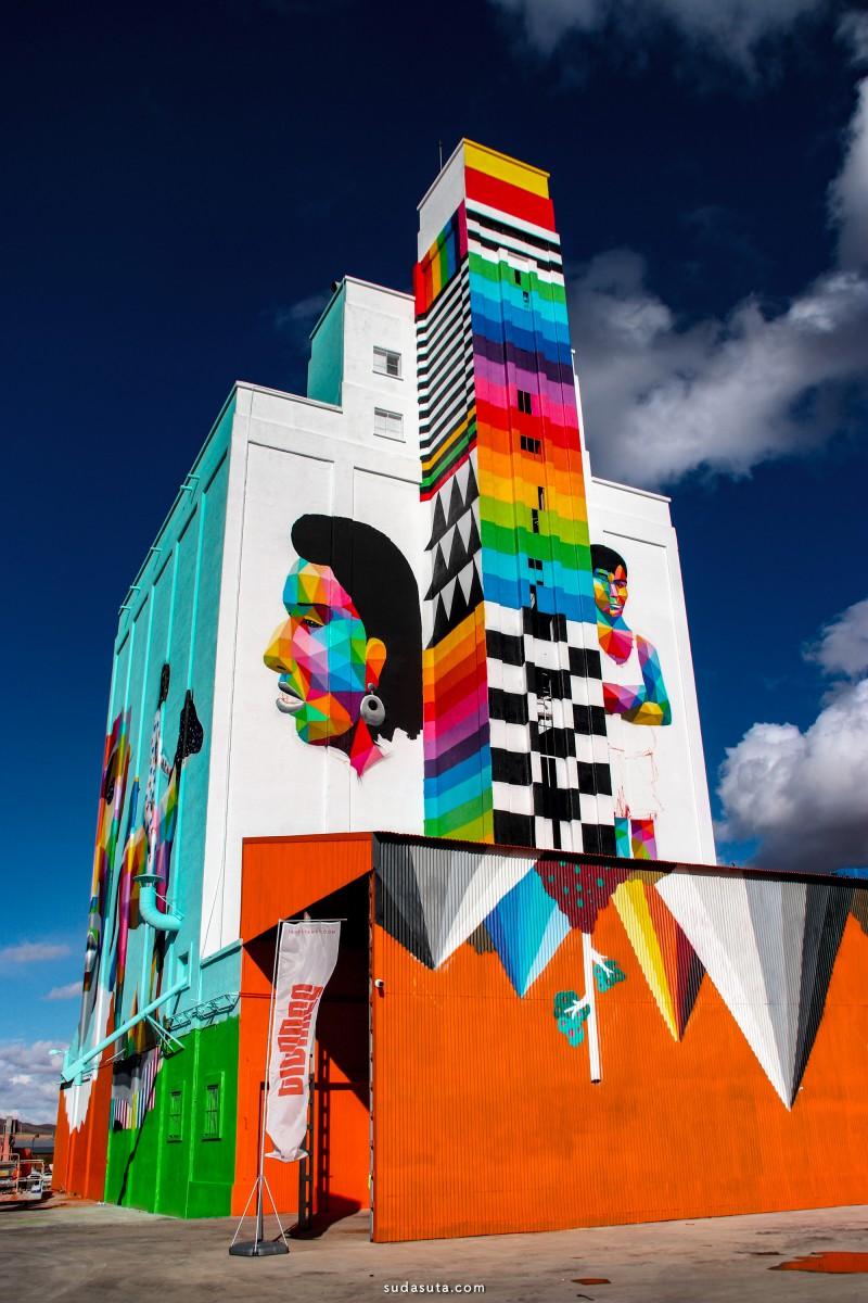 Bicicleta sem Freio 城市壁画艺术