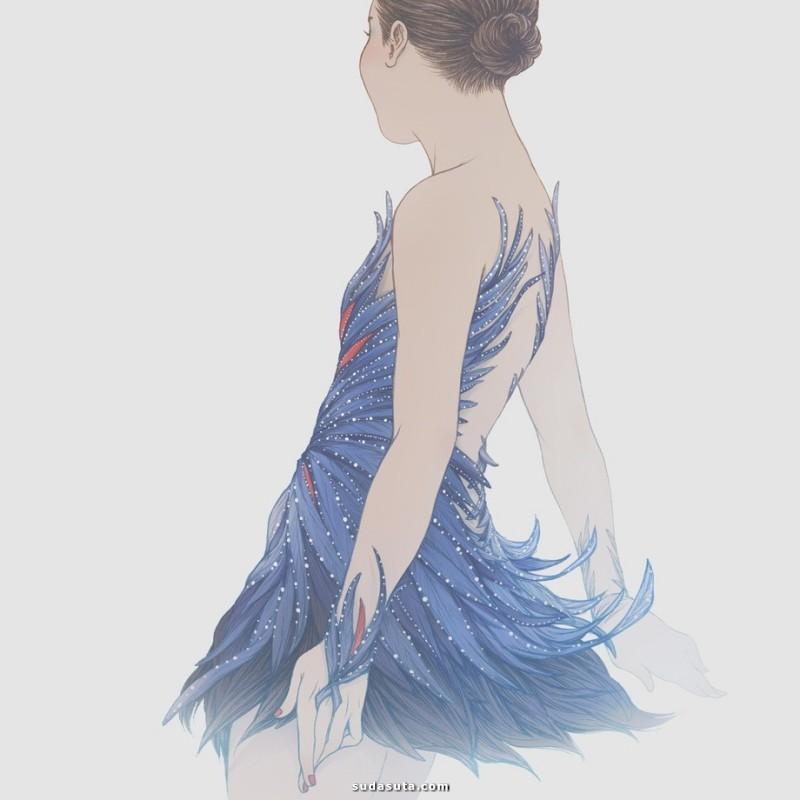 Cynthia Tedy 优雅迷人的绘画艺术欣赏