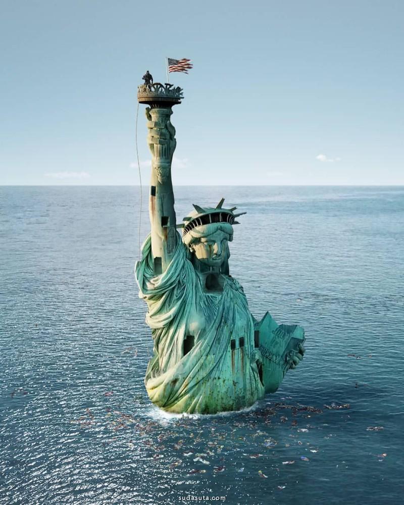 Fabien Barrau 超现实主义照片合成作品欣赏