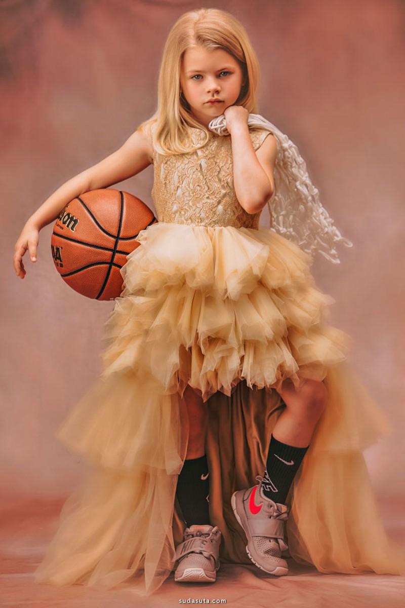Heather Mitchell 儿童摄影欣赏 公主和女汉子