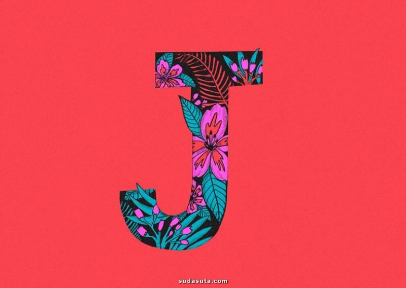 Jaclyn Caris 每日的字母设计练习