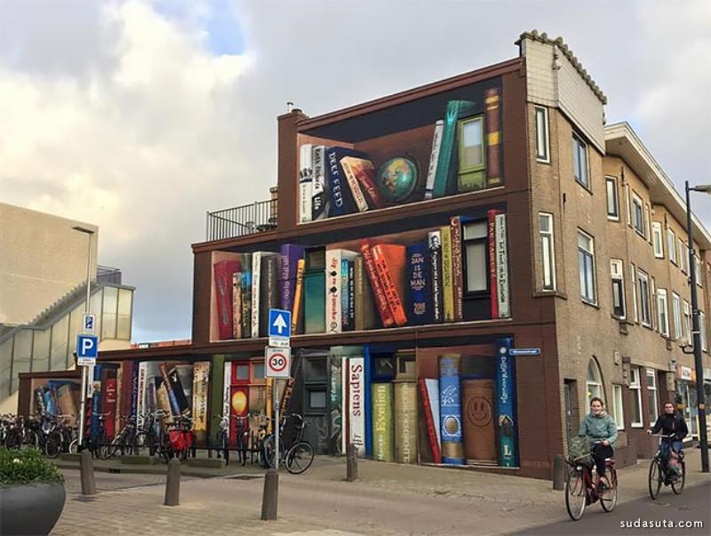 Jan Is De Man 和 Deef Feed 街角的书店