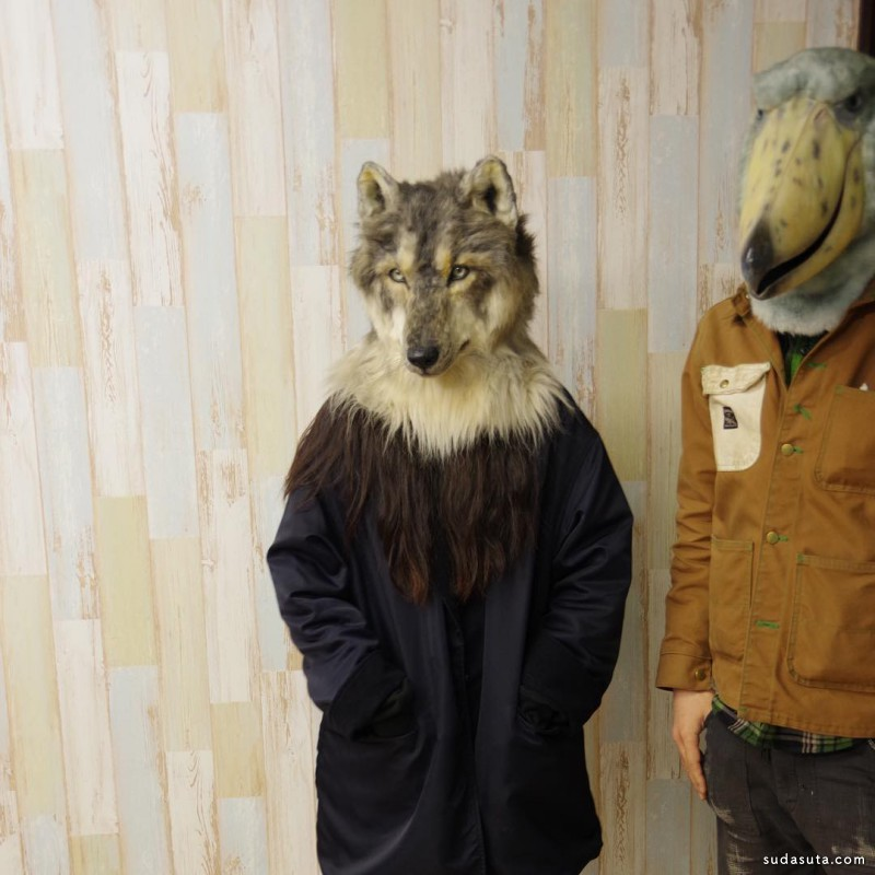 Kamonohashizokei 魔法面具