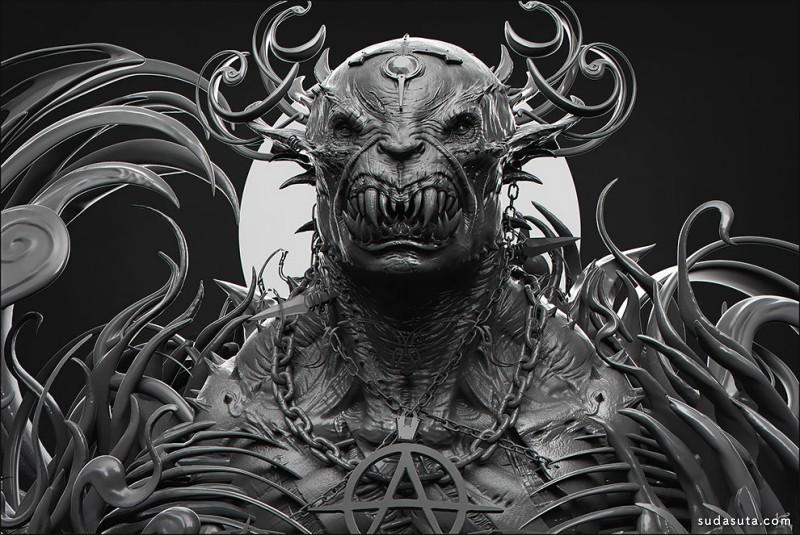 Kenny Carmody 怪物造型设计欣赏