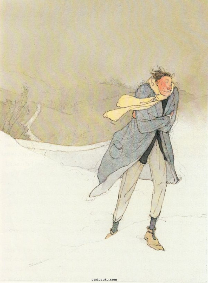 Lisbeth Zwerger 插画作品欣赏