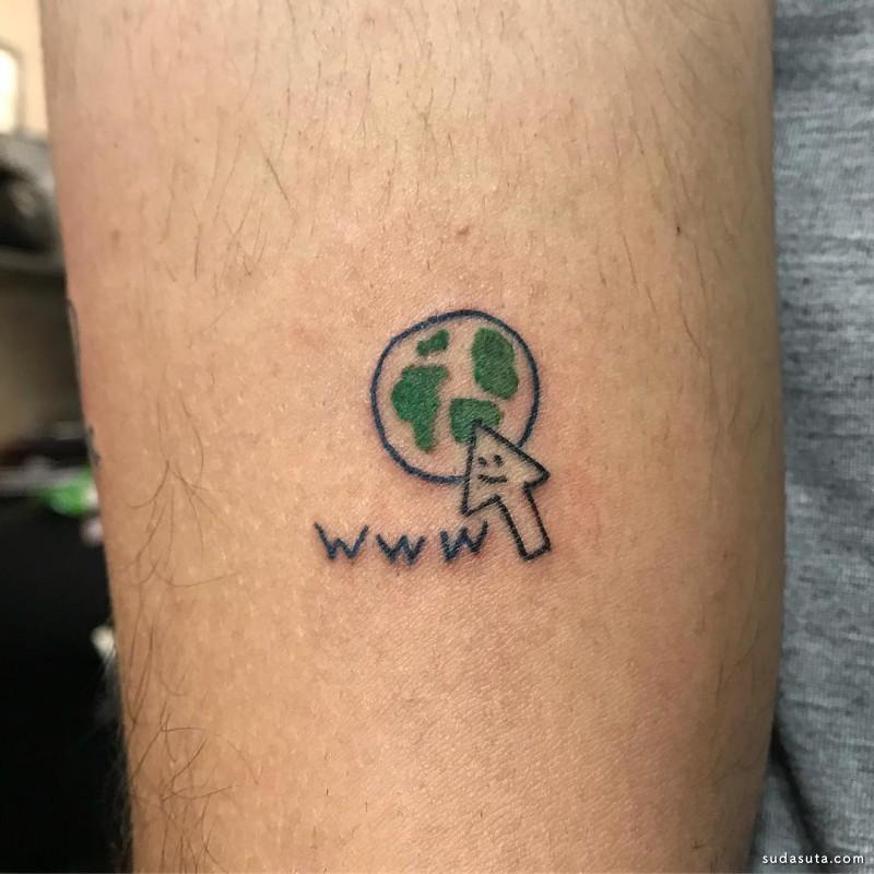 Malfeitona 幽默有趣的纹身设计欣赏